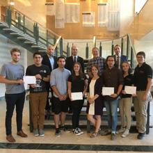 Quatre sociétés techniques récompensées par la direction de Polytechnique Montréal pour leurs performances en 2018
