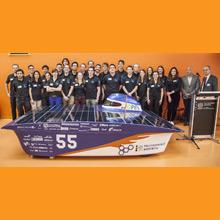 Le comité étudiant Projet Esteban de Polytechnique Montréal dévoile sa nouvelle voiture solaire